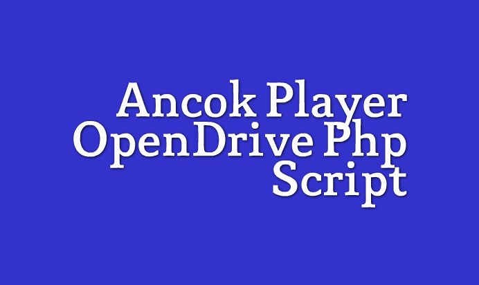 Ancok Opendrive